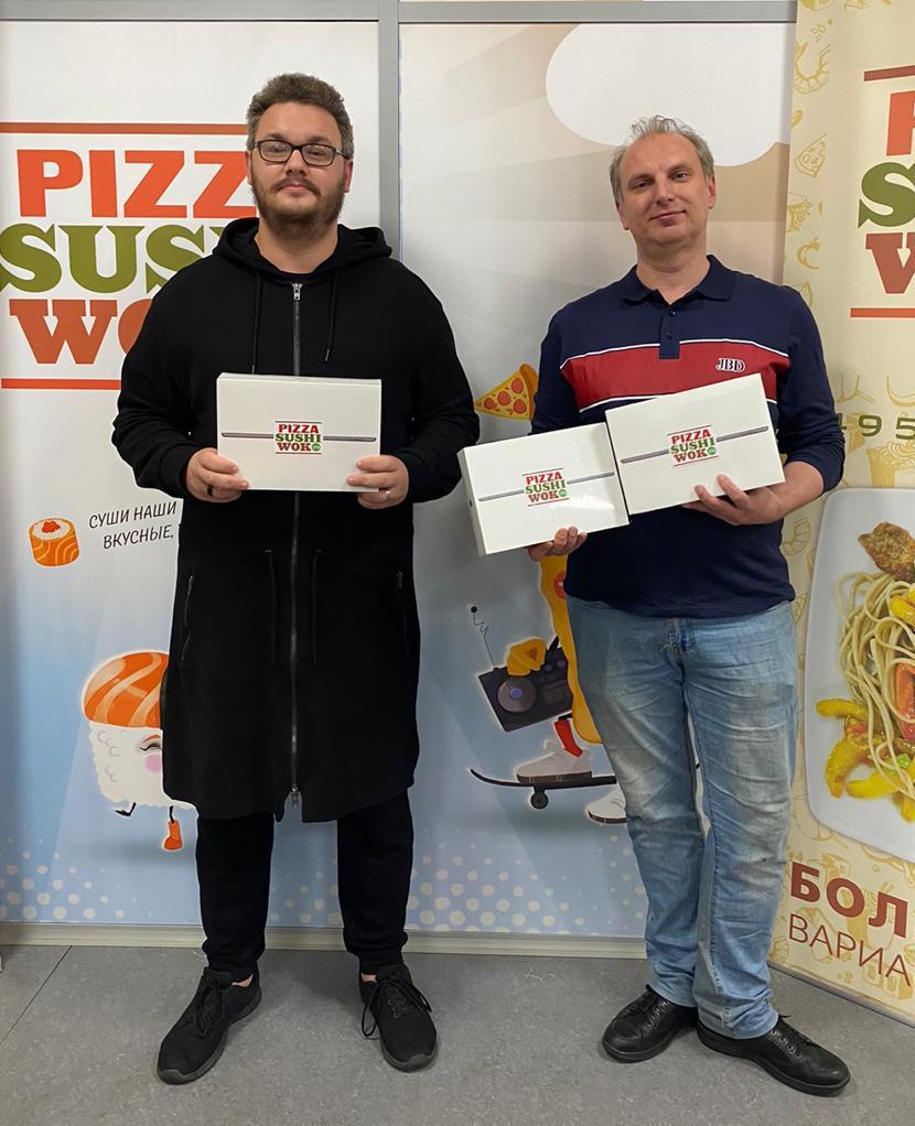 Более 100 призов были разыграны в рамках марафона компанией PizzaSushiWok