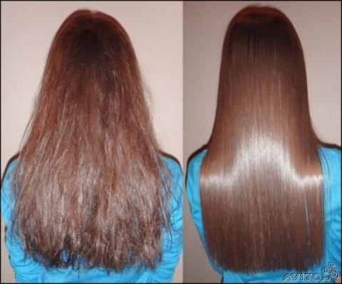 Эффект ламинирования для волос в домашних условиях